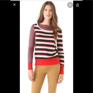 👧 Marc by Marc Jacobs Merino wool striped sweater